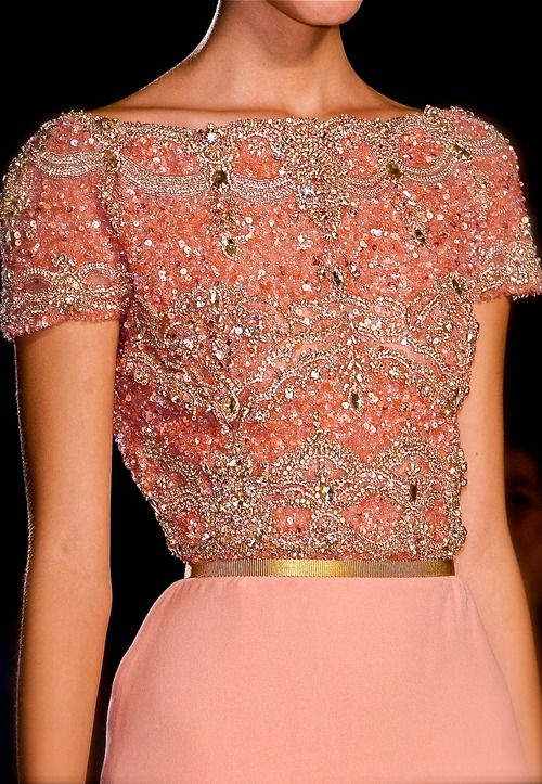 holdingamirroruptonature:  Imagine if you woke up one day and your closet was filled with Elie Saab Couture.