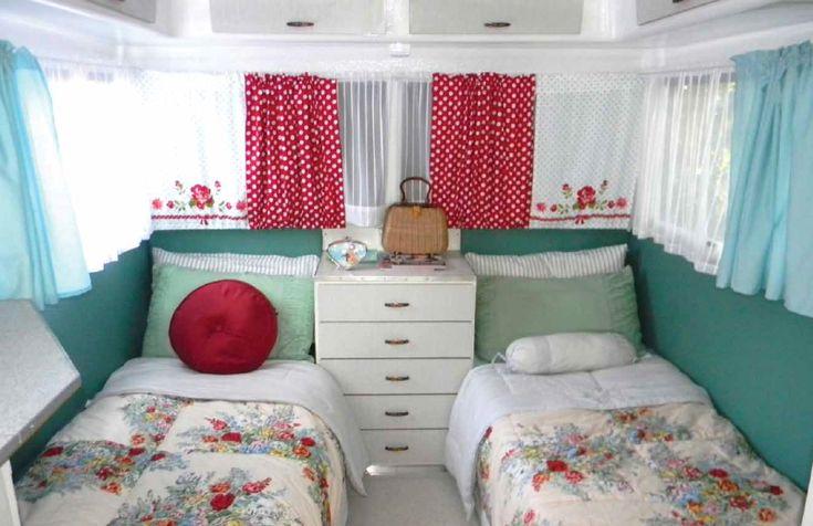 vintage caravan interior google search caravan makeover pinterest caravane id e. Black Bedroom Furniture Sets. Home Design Ideas