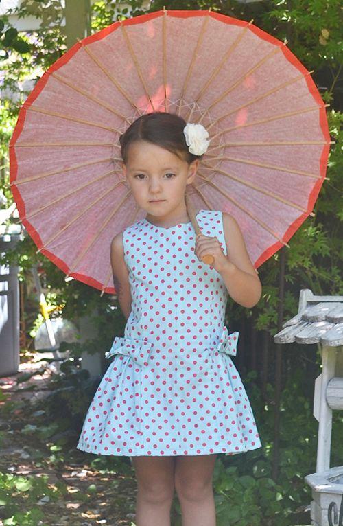Girl's Dress PDF Sewing Pattern