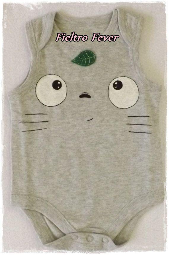Camiseta Totoro Totoro body Totoro Totoro baby por FieltroFever, €12.00