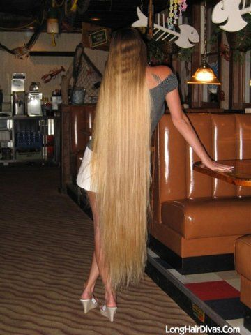 Love long hair photos anya and leona about ugly