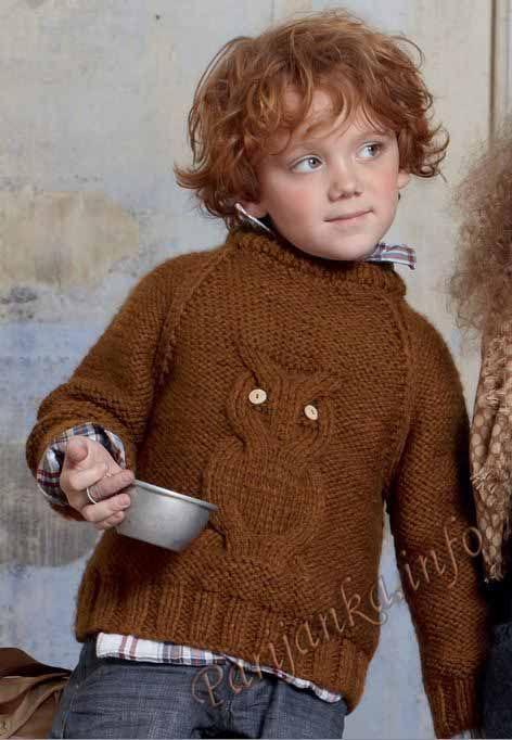 Пуловер (д) 24 * 76 Phildar № 3117