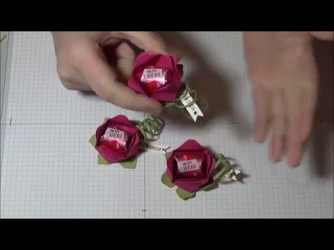 "Tutorial ""BLUME"" mit Produkten von Stampin' Up! - YouTube"