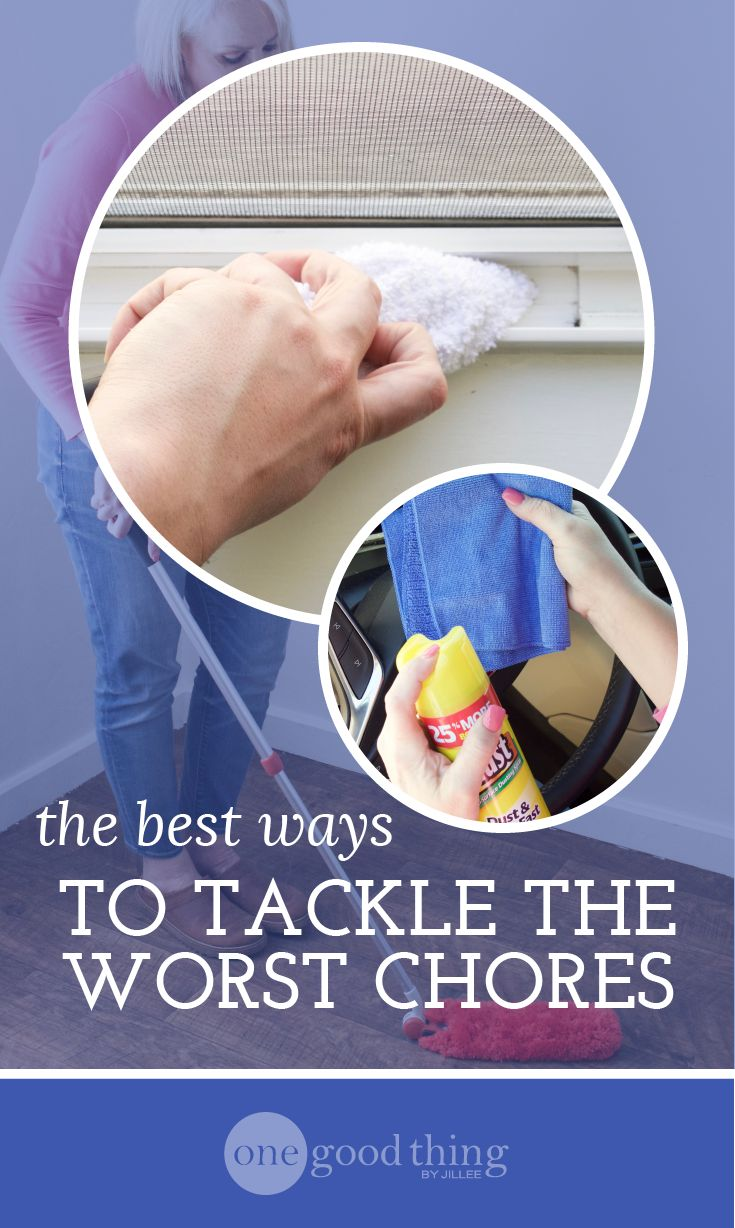 The Best Ways To Tackle Your Most Dreaded Spring Cleaning Chores - One Good Thing by Jillee