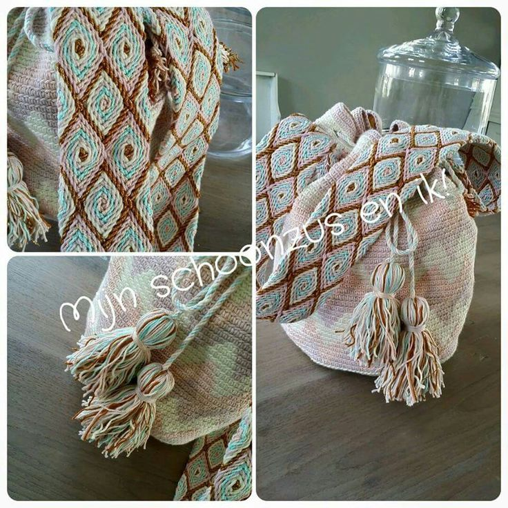 Mochila bag - boho ibiza style ... gemaakt  door  Marika! !! Volg ons op www.facebook.com/mijnschoonzusenik