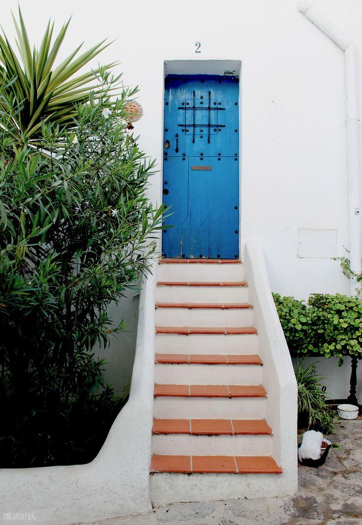 by anne van den berg. ibiza 2014. blue door