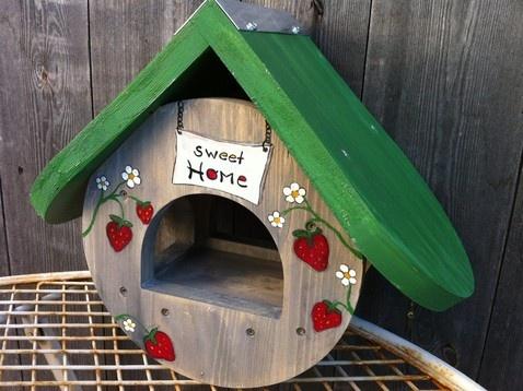 58 best vogelhaus images on pinterest birdhouses cabins. Black Bedroom Furniture Sets. Home Design Ideas