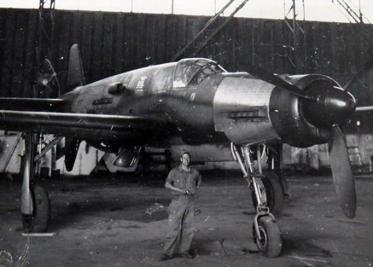 Captured by the Americans heavy fighter Dornier Do.335