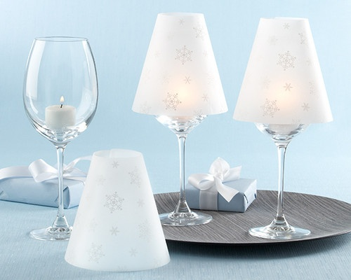 1000 images about vellum shade stemware lamp on pinterest for Wine glass lamp centerpiece