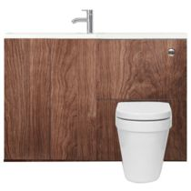 Space Saving Toilet and Sink Units   bathstore