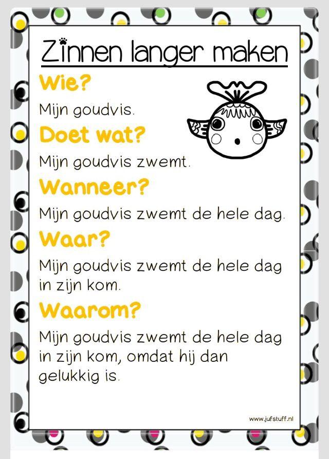 zinnen leren vormen