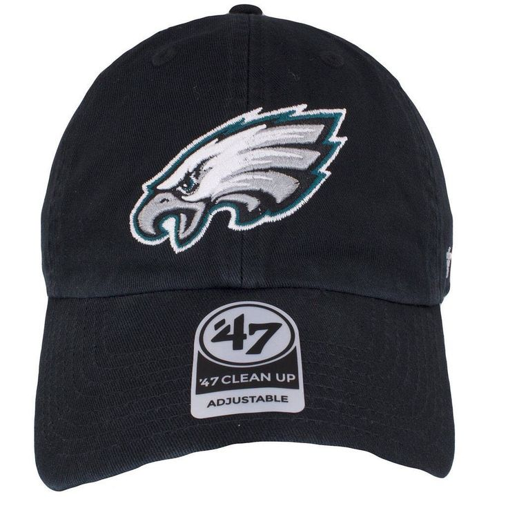 This current logo Eagles dad hat is fresh! Keep it simple when showing love for the Philadelphia Eagles! Shop now! #philadelphiaeagles #philly #eagles #gobirds #goeagles #throwback #capswag #vintage #philadelphia #wentz11