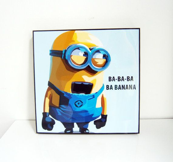 Minion Wall Decor 8 best ideas for kids bedrooms images on pinterest | minion room