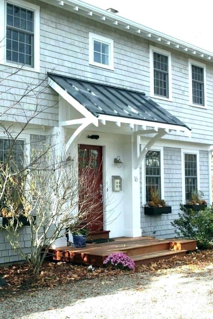 Front Door Overhang Porch Awning Ideas Design Favorite Images Kit