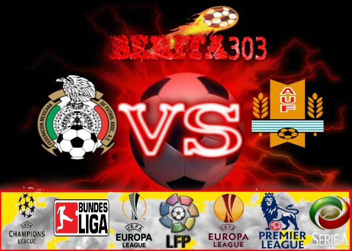 Prediksi Skor Mexico vs Uruguay 06 Juni 2016 | Prediksi Bola Mexico vs Uruguay 06 Juni 2016 | Liga Persahabatan Mexico vs Uruguay | Prediksi Mexico vs Uruguay  http://berita303.com/prediksi-skor-mexico-vs-uruguay-06-juni-2016/
