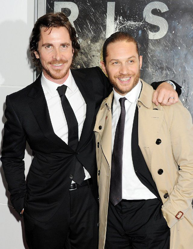 Christian Bale (Batman) and Tom Hardy (Bane). Two great actors! Both with an inclination and talent to perform disturbed personalities in an extremely genuine and believable way.