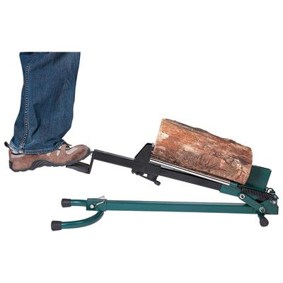 Quality Craft Foot-Operated Log Splitter — 1.5-Ton, Model# LSF-001-This would take FOREVER! But your legs would be strong.