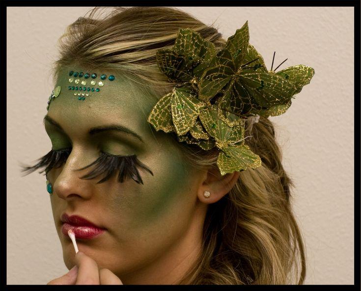 halloween forest fairy makeup look more mehr - Fairy Halloween Makeup Ideas