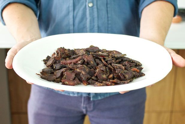 How to make biltong - the finished product