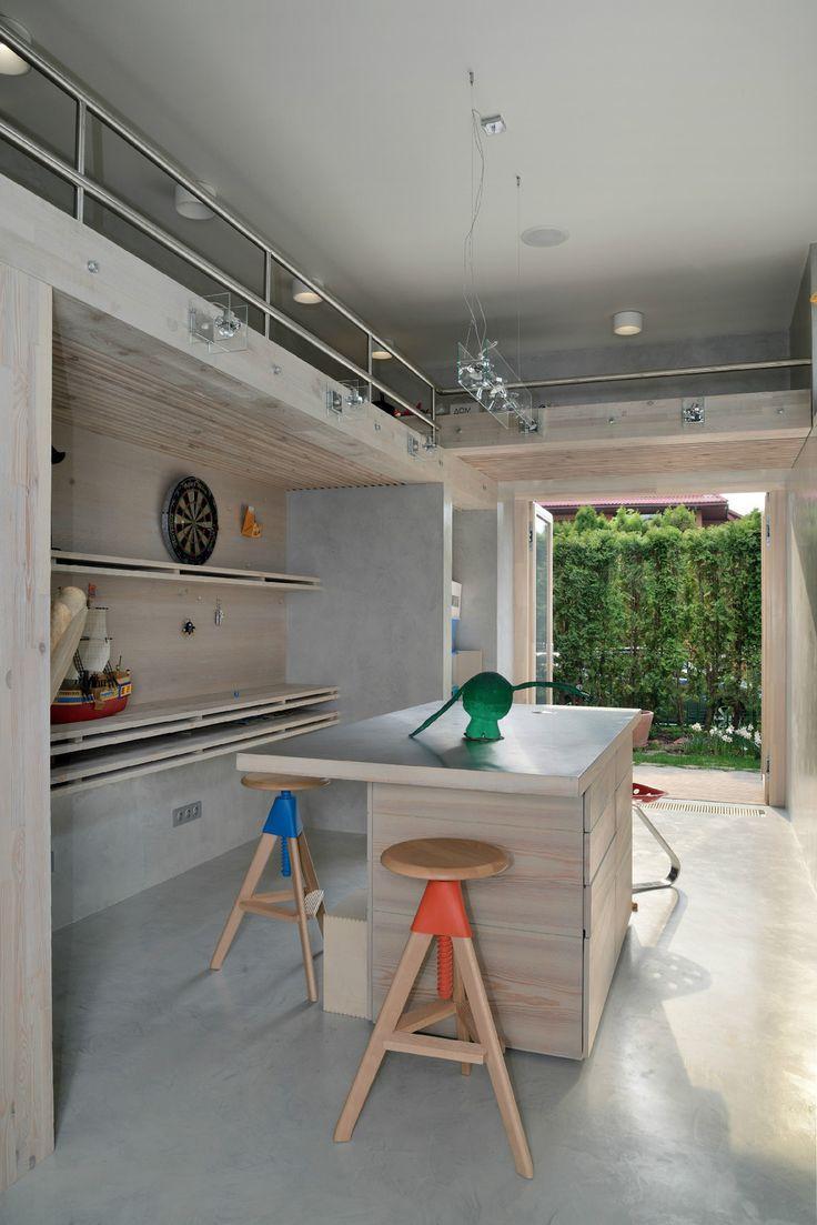 Reconstruction of a House by Studio AI. Interior ArchitectureInterior DesignModern  ...