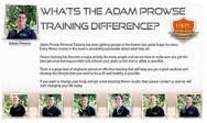 Adam Prowse Personal Trainer provides the services of the Boot Camp, Fitness Training, Gym Workouts, and Weight Loss Programs in Maitland, NSW, Australia.    http://adamprowse.com