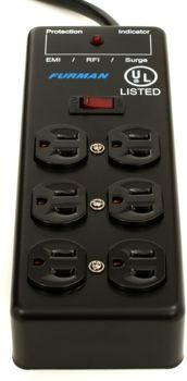 Furman SS-6B 6 Outlet Power Strip | Sweetwater.com (Want)
