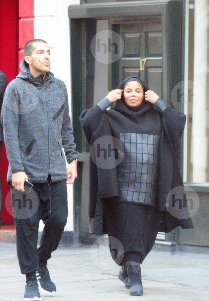Janet Jackson w/ husband Wissam Al Mana.