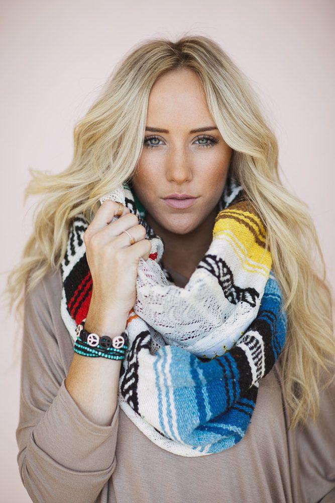 Mexican Sarapa Infinity Lace Scarves Bobo Shawl by ThreeBirdNest, $88.00