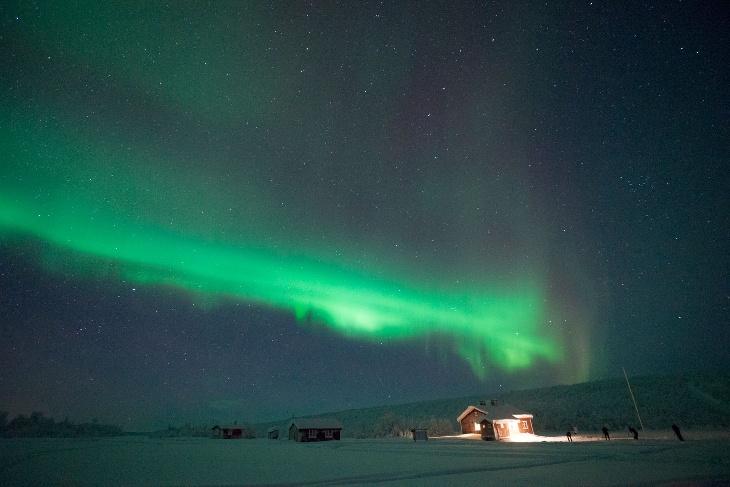 Karasjok Norway Northern Lights