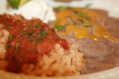 Classic Mexican Red Rice and Frijoles