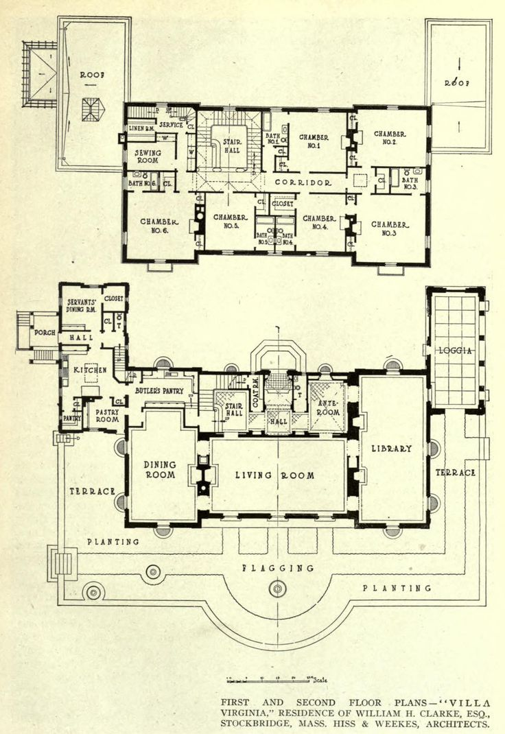 Floor plans for the villa virginia stockbridge
