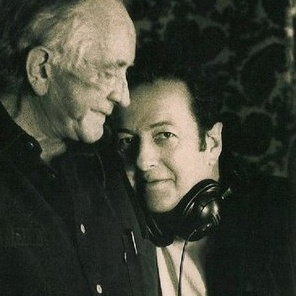 """Johnny Cash & Joe Strummer.....This makes me impossibly happy, and impossibly sad at the same time. Their duet in the twilight of their lives covering Marley's """"Redemption Song"""" is celestial."""