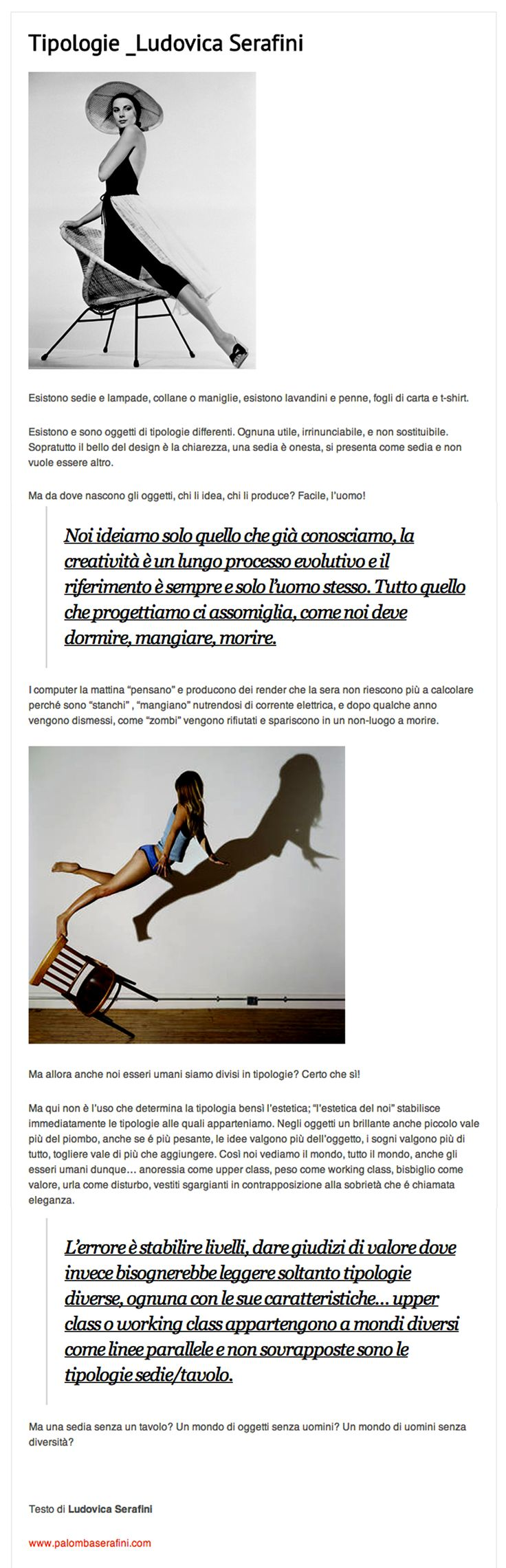 September 5th 2013 | Ludovica Palomba #blog for @casatrend+++  | http://www.casatrendmag.it/1470/