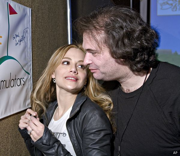 Brittany Murphy and husband Simon Monjack in 2009. Description from newsmax.com. I searched for this on bing.com/images