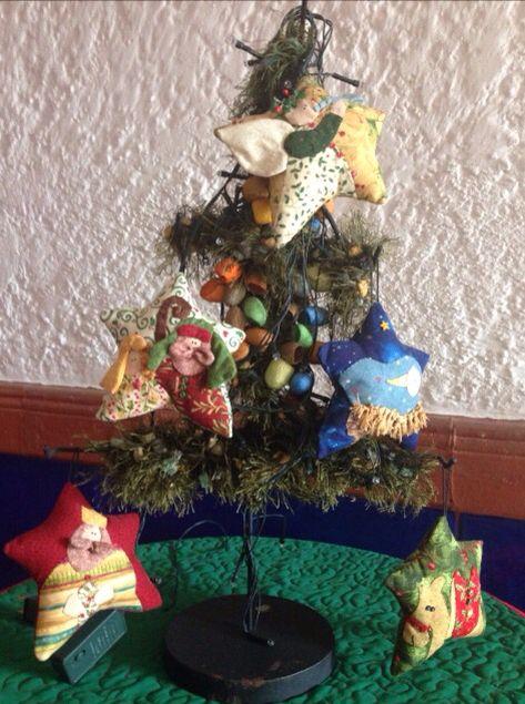 Árbol de Navidad elaborado por Guela Mainieri