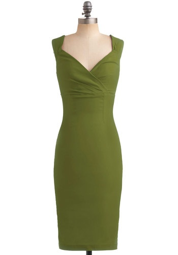 Lady Love Song Dress in Fern, #ModCloth