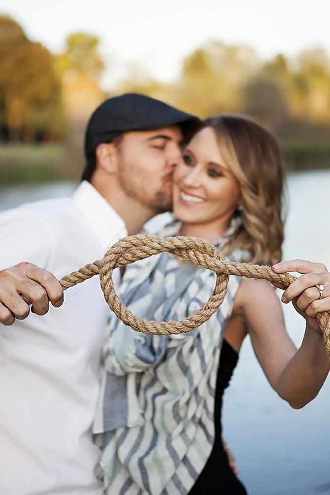 Amazing Engagement Photo Ideas ❤ See more: http://www.weddingforward.com/engagement-photo-ideas/ #weddings