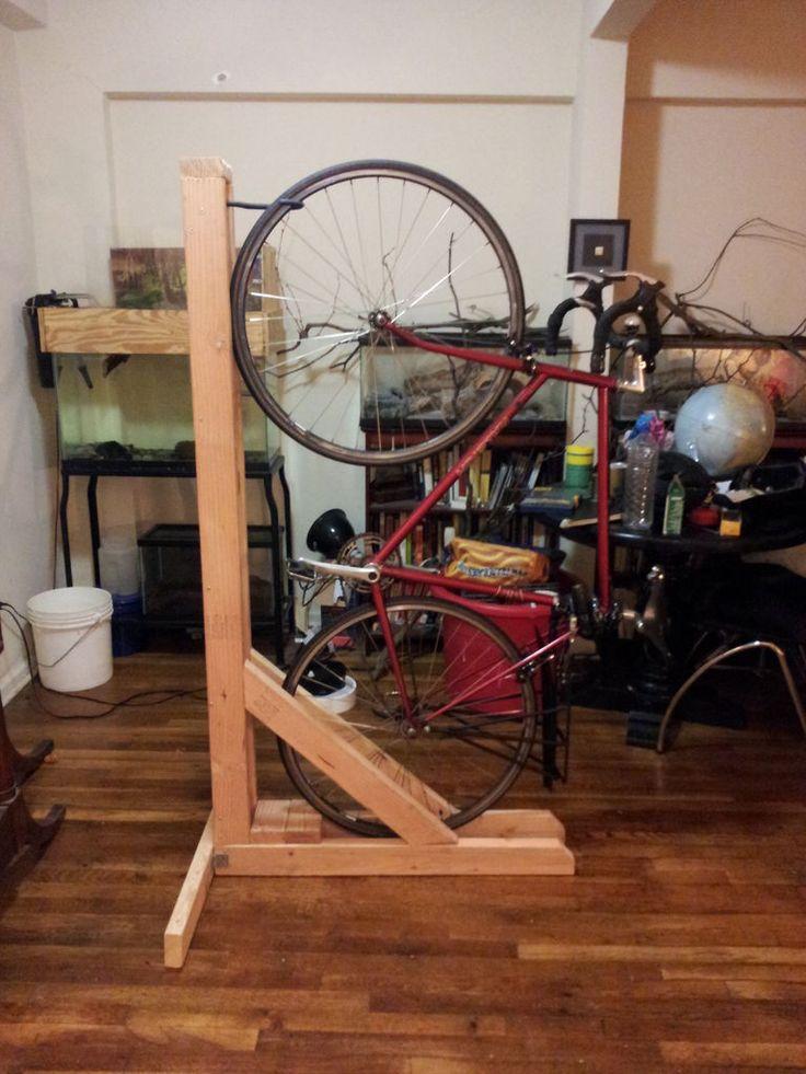 Diy Vertical Bike Rack 1uplgicbe Bike Storage Apartment