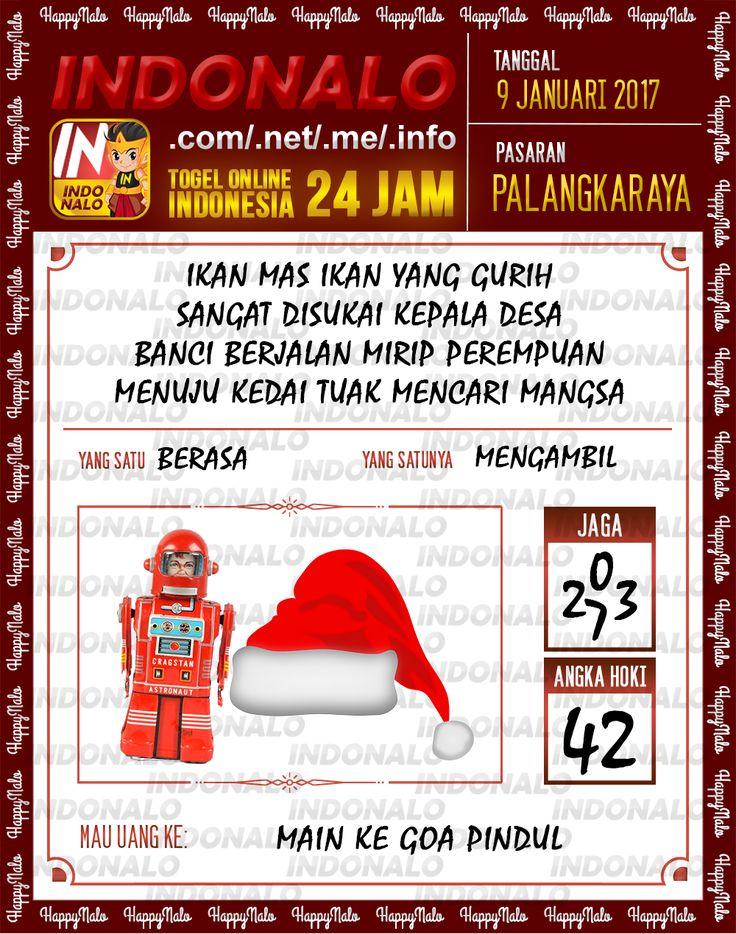 Kode Jaga 6D Togel Wap Online Live Draw 4D Indonalo Palangkaraya 9 Januari 2017