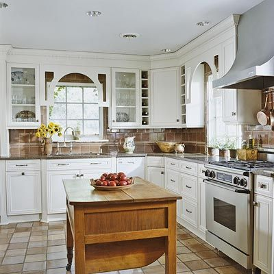 The 25 Best Country L Shaped Kitchens Ideas On Pinterest  L Impressive L Shaped Country Kitchen Designs Decorating Design