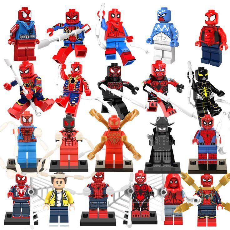 The Avengers Superheld Spider-Man Iron Man Action Figur Figuren Spielzeug Gift