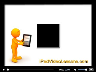 If we have a new iPad, we must need iPad video Lesson  because there was no instruction manual in there. The iPad Video Lesson will teach you to become a master iPad user. All instructions easy to understand. What you need to do is just watching the videos, and practice.