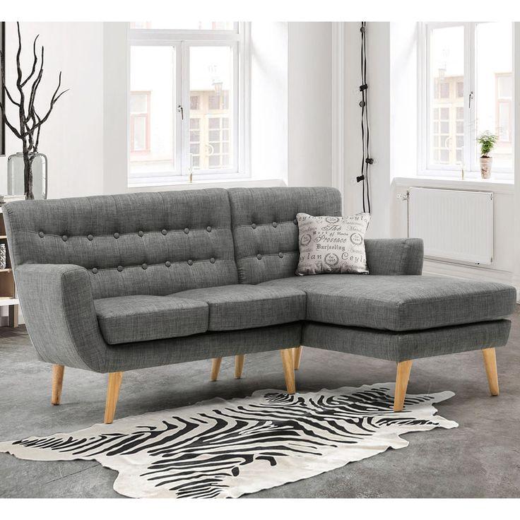 Large Corner Sofas Ebay Uk: Best 25+ Grey Corner Sofa Ideas On Pinterest