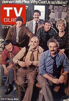 TV Guide cover the cast of Barney Miller