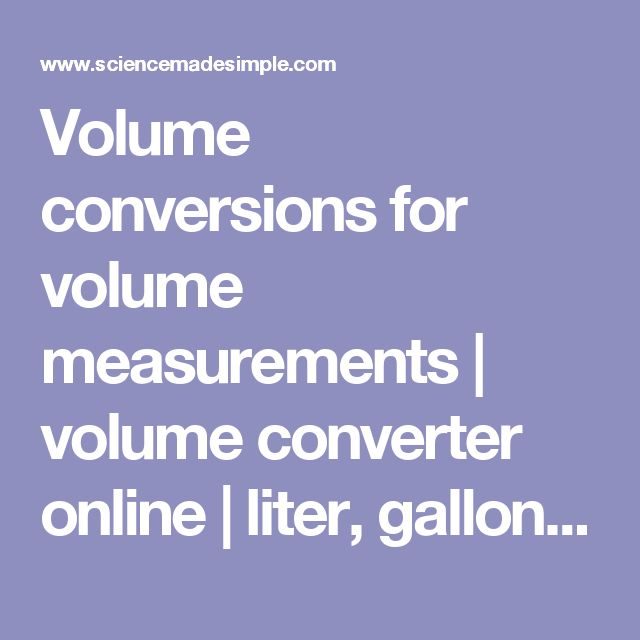 Volume conversions for volume measurements | volume converter online | liter, gallon, ounce, milliliter, cup, quart, cubic foot, cubic yard, cubic meter