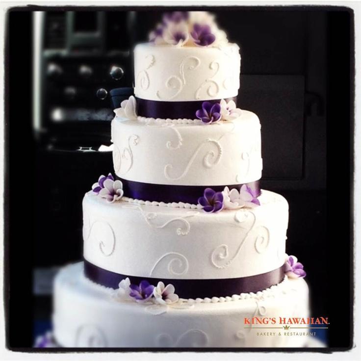 Hawaiian Bakery Torrance Wedding Cake