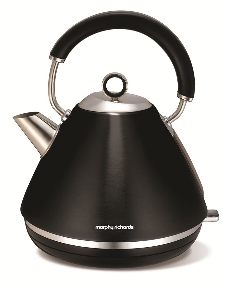 Accents Traditional Kettle Black