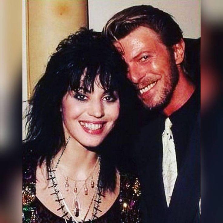 Joan Jett & David Bowie.