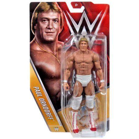 WWE Basic Paul Orndorff Figure, Multicolor