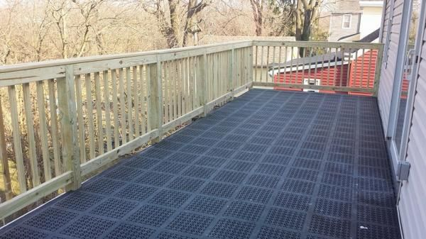 Staylock Tile Perforated Black Roof Deck And Decking